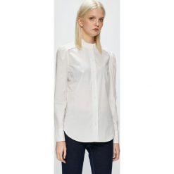 Calvin Klein - Koszula. Szare koszule damskie Calvin Klein, z bawełny, casualowe, ze stójką, z długim rękawem. Za 449.90 zł.