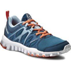 Buty Reebok - Realflex Train 4.0 BD5061 Blue/Grey/Pink. Niebieskie obuwie sportowe damskie Reebok, z materiału. W wyprzedaży za 199.00 zł.
