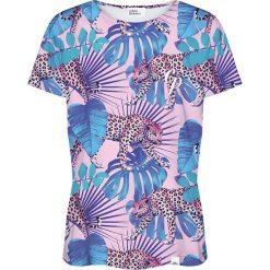 Colour Pleasure Koszulka damska CP-030 274 różowo-niebieska r. XL/XXL. T-shirty damskie Colour Pleasure. Za 70.35 zł.