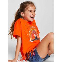 Mango Kids - Szorty dziecięce Lita 110-164 cm. Spodenki dla dziewczynek marki bonprix. W wyprzedaży za 49.90 zł.