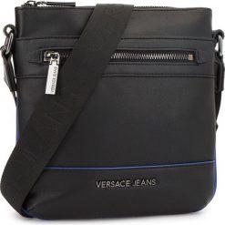 Saszetka VERSACE JEANS - E1YSBB42  70767 899. Czarne saszetki męskie Versace Jeans, z jeansu, młodzieżowe. Za 429.00 zł.