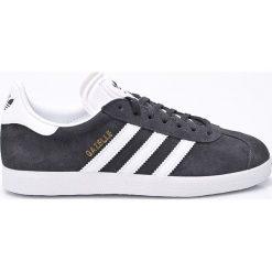 Adidas Originals - Buty Gazelle. Szare obuwie sportowe damskie adidas Originals, z gumy. W wyprzedaży za 349.90 zł.