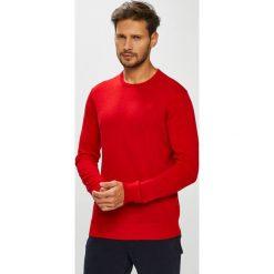 G-Star Raw - Sweter. Czerwone swetry przez głowę męskie G-Star Raw, z dzianiny, z okrągłym kołnierzem. W wyprzedaży za 349.90 zł.