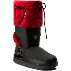 Śniegowce LOVE MOSCHINO - JA24232G04JK200B Rosso. Śniegowce i trapery damskie Love Moschino, z materiału. W wyprzedaży za 389.00 zł.