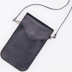 Skórzana mini torebka ReDesign - Czarny. Czarne torebki do ręki damskie Reserved. Za 199.99 zł.