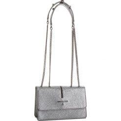 Torebka PATRIZIA PEPE - 2V5920/AA94-S535 Dark Silver. Szare torebki do ręki damskie Patrizia Pepe, ze skóry. W wyprzedaży za 799.00 zł.