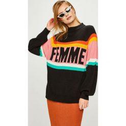 Answear - Sweter. Szare swetry damskie ANSWEAR, z dzianiny. Za 149.90 zł.