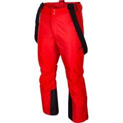 Spodnie narciarskie męskie SPMN350 - czerwony. Spodnie snowboardowe męskie marki WED'ZE. Za 249.99 zł.