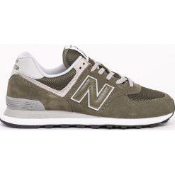 New Balance - Buty ML574EGO. Szare buty sportowe męskie New Balance, z gumy. W wyprzedaży za 269.90 zł.