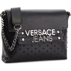Torebka VERSACE JEANS - E1VSBBL1 70716 MEN. Czarne torebki do ręki damskie Versace Jeans, z jeansu. Za 699.00 zł.