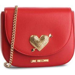 Torebka LOVE MOSCHINO - JC4150PP17LY0500  Rosso. Czerwone torebki do ręki damskie Love Moschino, ze skóry ekologicznej. Za 639.00 zł.