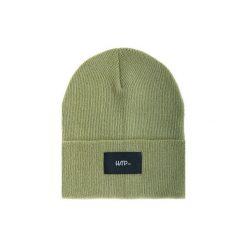 Czapka Beanie Olive (Black). Zielone czapki i kapelusze męskie Harp team, z dzianiny. Za 49.00 zł.