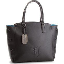 Torebka TRUSSARDI JEANS - Melissa 75B00452 K300. Czarne torebki do ręki damskie TRUSSARDI JEANS, z jeansu. W wyprzedaży za 469.00 zł.