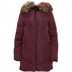 Bordowa Kurtka Reliable. Czerwone kurtki damskie Born2be, na zimę. Za 209.99 zł.