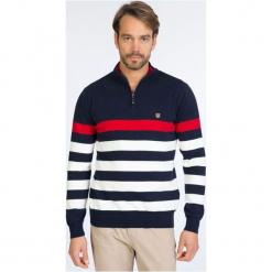 Sir Raymond Tailor Sweter Męski L Wielokolorowy. Szare swetry przez głowę męskie Sir Raymond Tailor, w paski. W wyprzedaży za 229.00 zł.