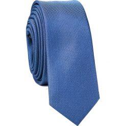 Krawat KWNS001663. Niebieskie krawaty i muchy Giacomo Conti, z mikrofibry. Za 69.00 zł.