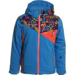 Spyder PROJECT  Kurtka narciarska french blue/frontier large ditz/coral. Kurtki i płaszcze dla dziewczynek Spyder, z materiału. W wyprzedaży za 647.10 zł.