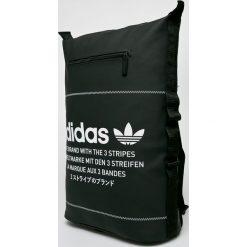 Adidas Originals - Plecak Nmd Bp. Czarne plecaki damskie adidas Originals, w paski, z materiału. W wyprzedaży za 239.90 zł.