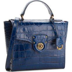 Torebka LAUREN RALPH LAUREN - Top Handle 431710885002  Navy. Niebieskie torebki do ręki damskie Lauren Ralph Lauren, ze skóry. W wyprzedaży za 1,039.00 zł.