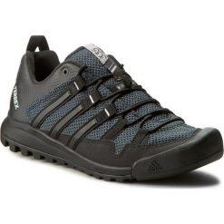 Buty adidas - Terrex Solo BB5561 Dkgrey/Cblack/Chsogr. Trekkingi męskie marki ROCKRIDER. W wyprzedaży za 399.00 zł.
