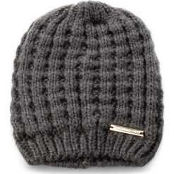 Czapka TRUSSARDI JEANS - Hat Knitted 59Z00033  E280. Szare czapki i kapelusze damskie TRUSSARDI JEANS, z jeansu. Za 169.00 zł.