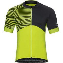 Odlo Koszulka rowerowa Stand-up collar s/s full zip Umbrail Ceramicool r. M (411452). Koszulki sportowe męskie marki bonprix. Za 221.15 zł.