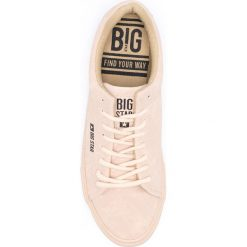 Big Star - Tenisówki. Szare trampki i tenisówki damskie Big Star, z materiału. W wyprzedaży za 59.90 zł.