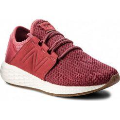 Buty NEW BALANCE - WCRUZNR2  Bordowy. Czerwone obuwie sportowe damskie New Balance, z materiału. W wyprzedaży za 269.00 zł.