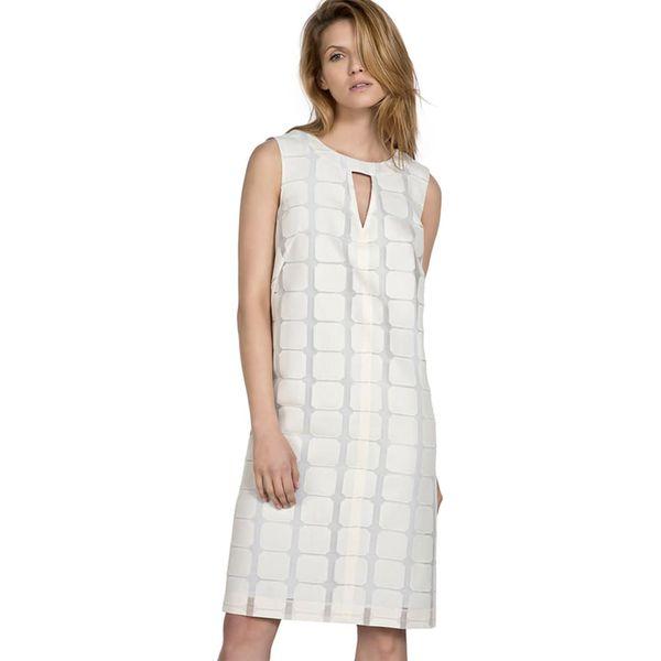 630c85372e Sukienka w kolorze białym - Sukienki damskie marki Deni Cler