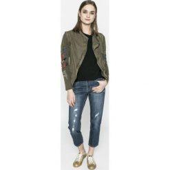 Desigual - Jeansy Mai. Niebieskie jeansy damskie Desigual. W wyprzedaży za 269.90 zł.