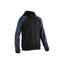 Bluza z kapturem S900. Czarne bluzy dla chłopców DOMYOS. Za 64.99 zł.