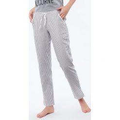 Etam - Spodnie piżamowe Damien. Szare piżamy damskie Etam, z bawełny. W wyprzedaży za 79.90 zł.