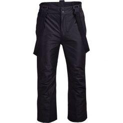 Spodnie narciarskie męskie SPMN600 - głęboka czerń - Outhorn. Brązowe spodnie snowboardowe męskie Outhorn. Za 199.99 zł.