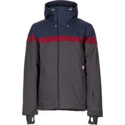 """Kurtka narciarska """"Dayton"""" w kolorze szaro-granatowym. Niebieskie kurtki snowboardowe męskie Maloja, z materiału. W wyprzedaży za 560.95 zł."""