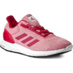Buty adidas - Cosmic 2 W S80661 Ftwwht/Enepn. Czerwone obuwie sportowe damskie Adidas, z materiału. W wyprzedaży za 199.00 zł.