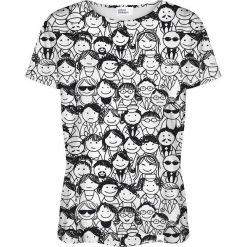 Colour Pleasure Koszulka damska CP-030 137 czarno-biała r. XXXL/XXXXL. T-shirty damskie Colour Pleasure. Za 70.35 zł.