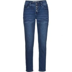 Dżinsy multi-stretch BOYFRIEND, dł. 7/8 bonprix niebieski. Jeansy damskie marki bonprix. Za 109.99 zł.