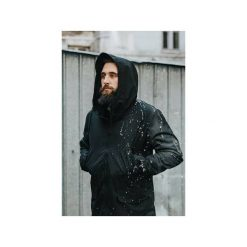 Parka All Black. Czarne parki męskie The urban beard. Za 415.00 zł.