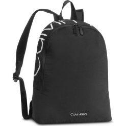 Plecak CALVIN KLEIN - Item Story Round Bac K50K503873 001. Czarne plecaki damskie Calvin Klein, z materiału. Za 399.00 zł.