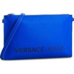 Torebka VERSACE JEANS - E3VSBPBA 70709 202. Niebieskie listonoszki damskie Versace Jeans, z jeansu. W wyprzedaży za 239.00 zł.