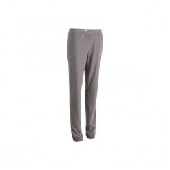 Spodnie dresowe Regular Gym & Pilates FIT+ 500 damskie. Niebieskie spodnie sportowe damskie DOMYOS, z bawełny. Za 34.99 zł.