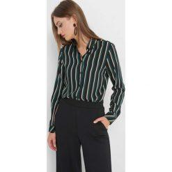 Koszula w paski. Niebieskie koszule damskie Orsay, w paski, z tkaniny. Za 79.99 zł.