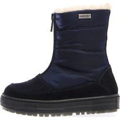 """Kozaki zimowe """"Devo"""" w kolorze granatowym. Buty zimowe dziewczęce Zimowe obuwie dla dzieci. W wyprzedaży za 257.95 zł."""