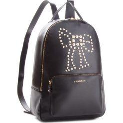 Plecak TWINSET - Zaino AA8PKA Nero 00006. Czarne plecaki damskie Twinset, ze skóry, eleganckie. Za 1,689.00 zł.