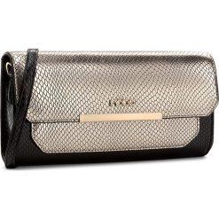 Torebka NOBO - NBAG-D0060-C023 Czarny Ze Złotym. Czarne torebki do ręki damskie Nobo, ze skóry ekologicznej. W wyprzedaży za 99.00 zł.