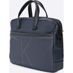 Calvin Klein Jeans - Torebka. Torby na laptopa męskie Calvin Klein Jeans, w paski, z bawełny. W wyprzedaży za 449.90 zł.