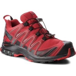 Buty SALOMON - Xa Pro 3D Gtx GORE-TEX 404722 27 V0 Red Dahlia/Black/Barbados Cherry. Czerwone buty sportowe męskie Salomon, z gore-texu. W wyprzedaży za 489.00 zł.