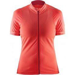 Craft Koszulka Rowerowa Glow W Orange S. Pomarańczowe koszulki sportowe damskie Craft, z meshu, z krótkim rękawem. W wyprzedaży za 219.00 zł.