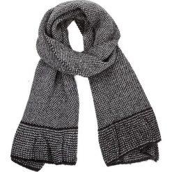 Szal PATRIZIA PEPE - 2V7500/AI39-K303  Black Love. Szare szaliki i chusty damskie marki Giacomo Conti, na zimę, z tkaniny. W wyprzedaży za 369.00 zł.
