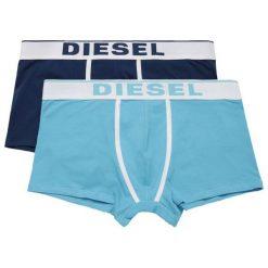 Diesel Zestaw Bokserek Męskich Damien 2 Szt. S Niebieski. Niebieskie bokserki męskie Diesel, z bawełny. Za 149.00 zł.